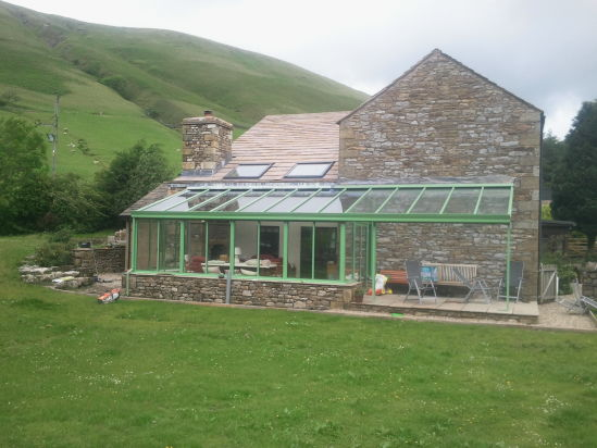 Re-roofed and new velux windows