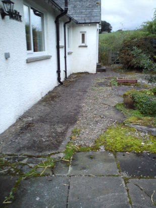 Pathway before