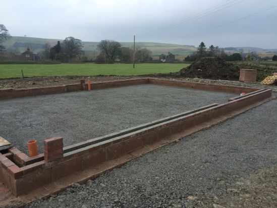 Levelled site