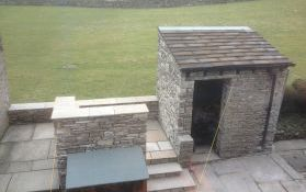 Re-Build Outbuilding and Patio